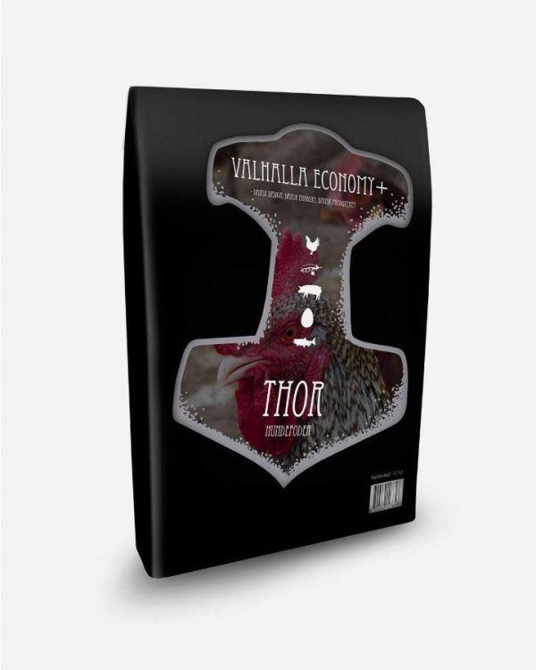 12 kg Valhalla Economy+ Thor (dansk prisvenligt kvalitetsfoder), 12 kg