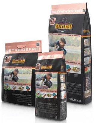 12,5 kg Finest Grain-Free Salmon Belcando - Singel Protein til små hunde