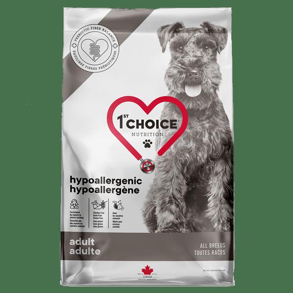 1st Choice Hyperallergi hundefoder, 11 kg.