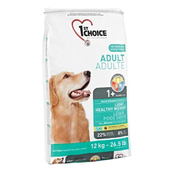 1st Choice Light Diæt hundefoder, 12 kg.