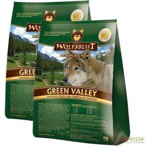 2 x 15 kg. Wolfblut Green Valley Adult storkøb rabat