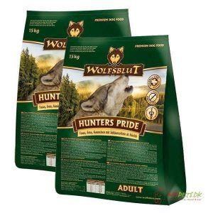 2 x 15 kg. Wolfblut Hunters Pride Adult storkøb rabat