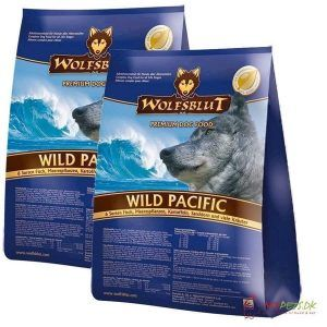 2 x 15 kg. Wolfblut Wild Pacific Adult storkøb rabat