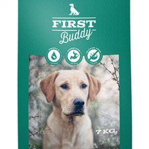 7 kg First Buddy Senior eller Light hundefoder