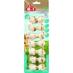 8in1 Delights Dental Bone chicken XS