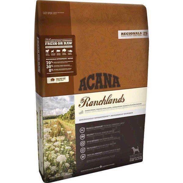 Acana Ranchlands hundefoder, Regionals, 2 kg