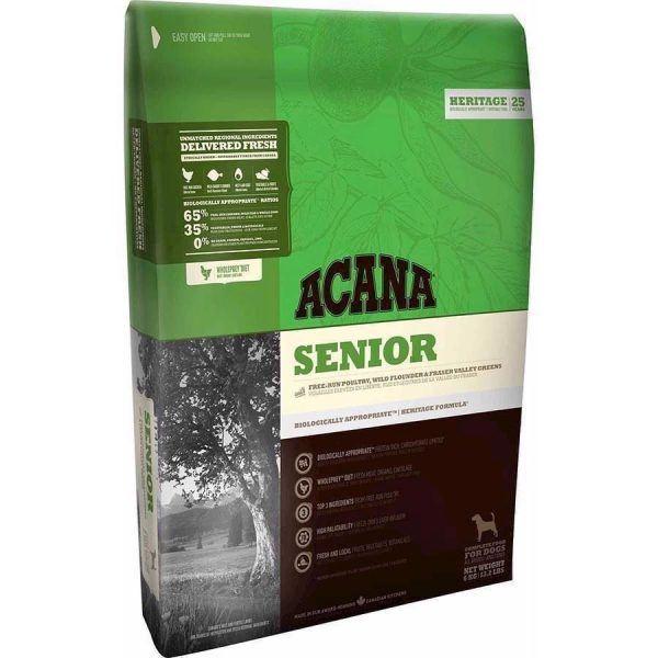 Acana Senior hundefoder, Heritage, 11.4 kg
