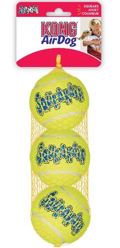 Airkong Squeaker tennis ball medium 3stk.