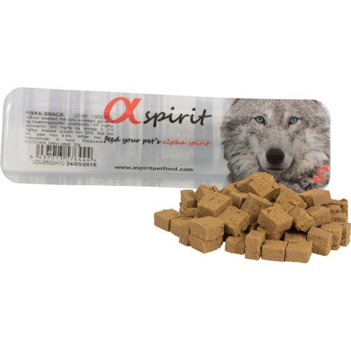 AlphaSpirit Hunde Snack Bløde Godbidder Med Fisk, 35g