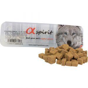 AlphaSpirit Hunde Snack Bløde Godbidder Med Kylling, 35g