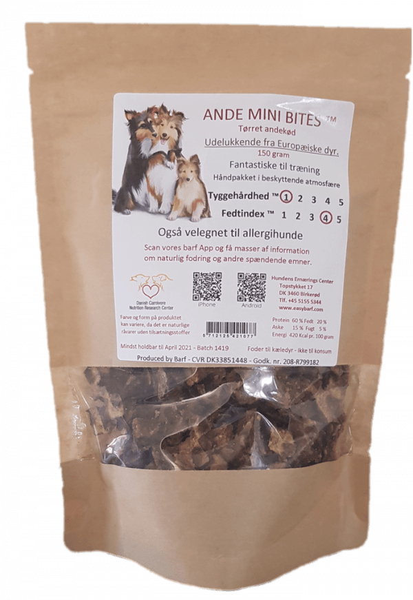 Ande Mini Bites - 150g