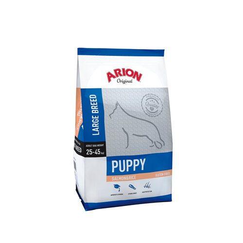 Arion Original Puppy Large Breed - Laks og Ris - 12kg