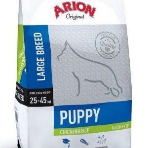Arion Original Puppy Large kylling og ris 12 kg