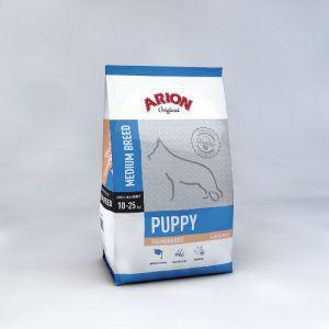 Arion Original Puppy Medium Breed - Laks og Ris - 12kg