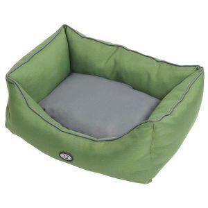 BUSTER Sofaseng, stålgrå/grøn, 60 x 70 cm