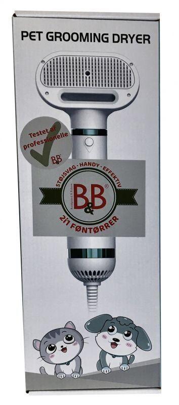 B&B 2i1 Føntørre