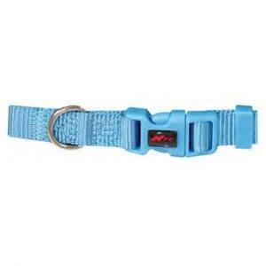 Basic nylonhalsbånd, Blå
