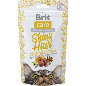 Brit Care Katte Snack Kornfrie Godbidder Til En Sund Pels Med Lakseolie, havtorn Og Hyben, 50g