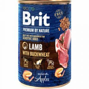 Brit Premium By Nature Lamb W/Buckwheat, 400 g