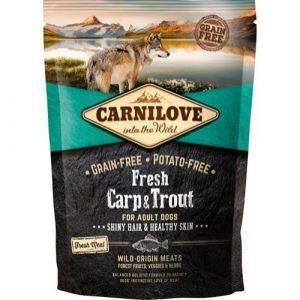 Carnilove Adult Carp & Trout smagsprøve, 100g