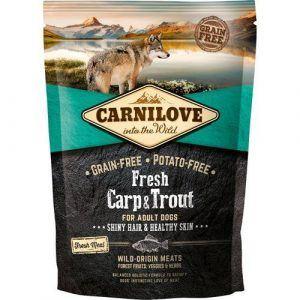 Carnilove Grainfree Dog Fresh Karpe & Ørred 1,5kg