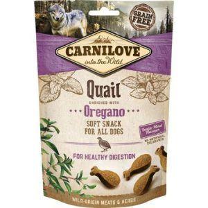 Carnilove Semi-Moist Quail snack 200g