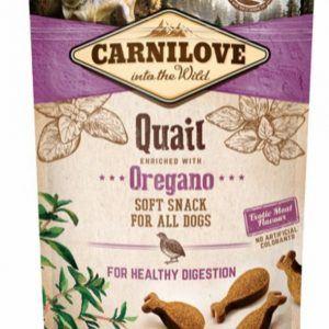 Carnilove Soft Snack Vagtel & Oregano, 200 g