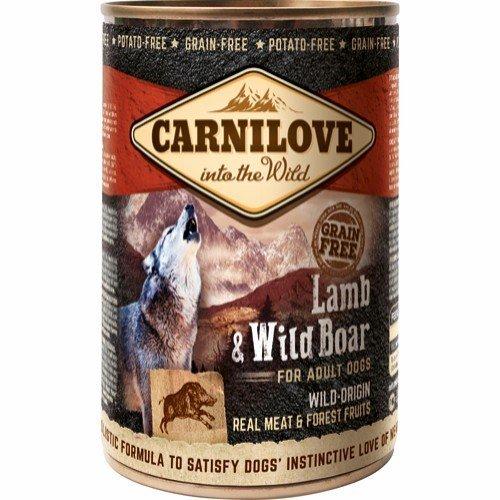 Carnilove dåsemad Lamb & Wild Boar, 400g