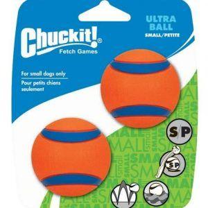 Chuckit Ultra Ball (meget stærk gummi) - Small 2-pak