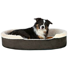 Cosma hundeseng Mørkebrun/beige, 55x45 cm