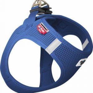 Curli Vest sele Air-mesh Blå 3XS Brystmål 24-28 cm
