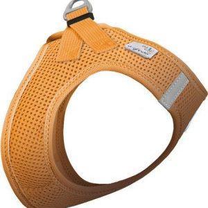 Curli Vest sele Air-mesh Orange 3XS Brystmål 24-28 cm