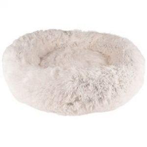 Cushion Krems Donut Hundeseng - Hvid
