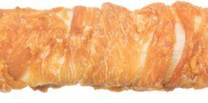 Denta Fun Filled Chicken Chewing Roll, 150 g - fyld med okselever og lunge - ca. 28 cm