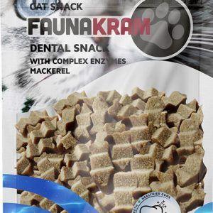 Dental Cat Snacks, 70 g - makrel med kompleks enzymer