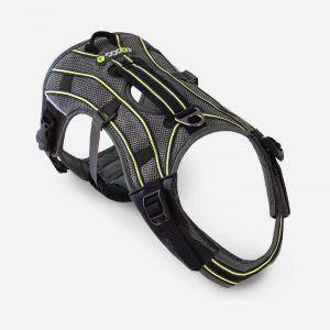 EQDOG New Pro Harness - Grå med refleks, Medium