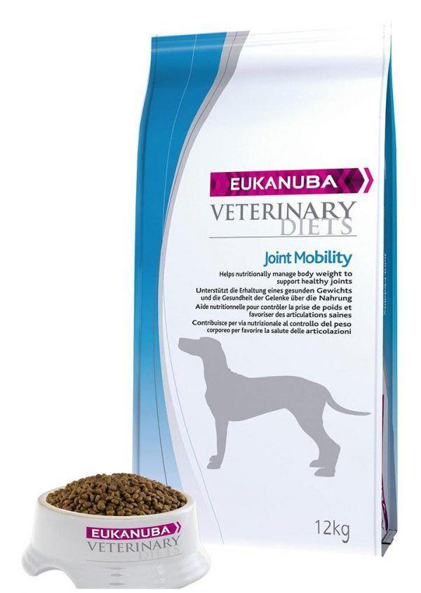 Eukanuba Hundefoder Veterinary Diets Joint Mobility Dogs - Til hunde til med ledproblemer - 12 kg