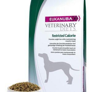 Eukanuba Hundefoder Veterinary Diets Restricted Calorie - begrænsede kalorier til hund - 12 kg