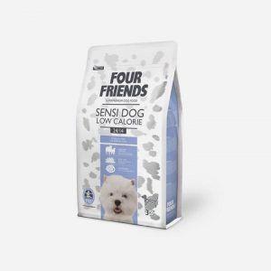 Four Friends Sensi Dog lavkalorie hundemad - ingen gluten