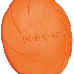 Frisbee, Flydende Naturgummi Ø24cm