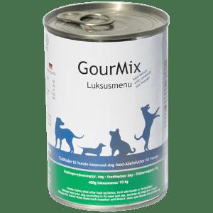 GourMix luksus dåsemad med kallun, hund, 400g