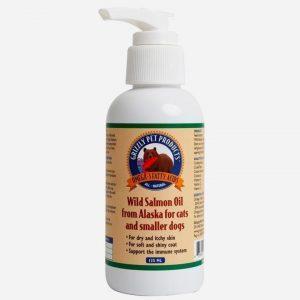 Grizzly - Lakseolie fra vilde laks i Alaska, 125 ML
