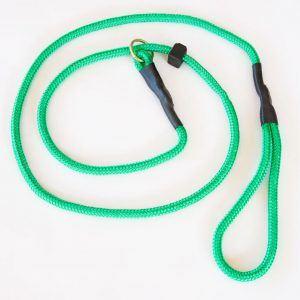 Grøn Retrieverline, 140 cm lang
