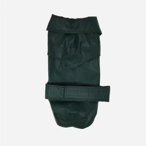 Grøn vandafvisende voks jakke fra Fashion Dog (art.112)