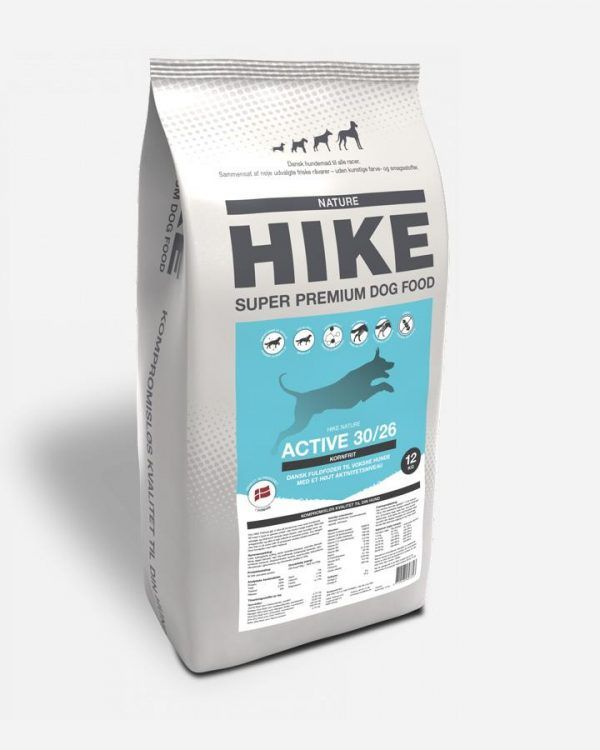 HIKE Aktiv - Kornfrit og Dansk, 2x12kg