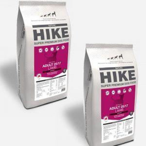 HIKE Lam - Kornfrit og Dansk, 2x12kg