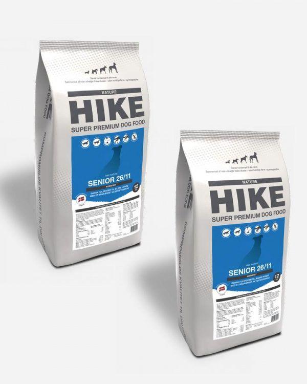 HIKE Senior - Kornfrit og Dansk, 2x12kg