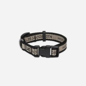 Halsbånd til hvalpe & små hunde - Black Platin