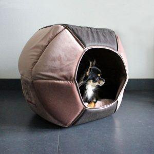 Happy House Moon Basket Cute Pets - Pink