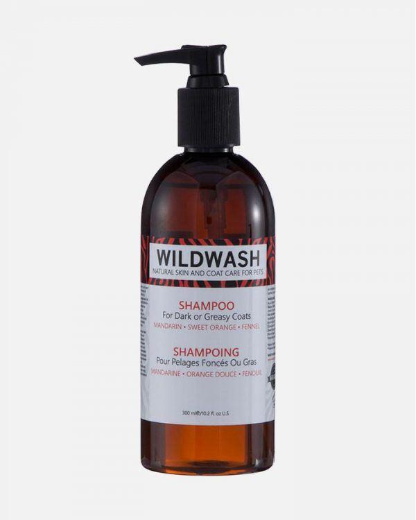 Hundeshampoo - Mørk og/eller fedtet pels